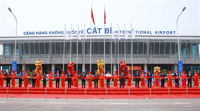 Cát Bi International Airport opens after lengthy upgrades