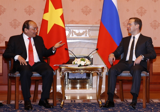 VN Russia agree to intensify comprehensive strategic ties