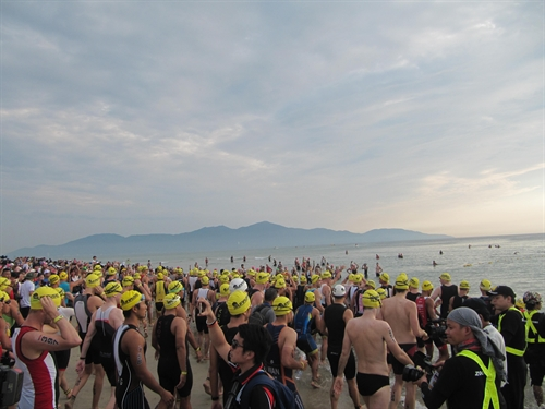 Over 1100 triathletes kids to race in Ironman