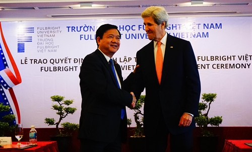Fulbright University officially launched in Việt Nam
