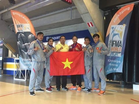 Muaythai fighters win five medals at world championship