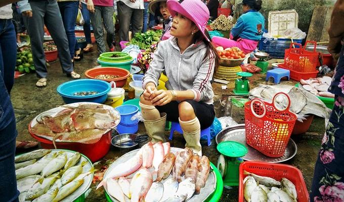 Fish still sell despite crisis