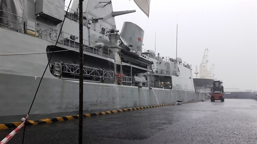 Australian warship pays goodwill visit to HCM City