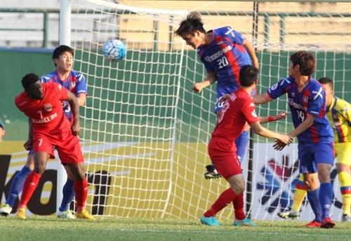 Bình Dương leave Champions League after a loss