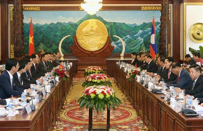 President starts Laos State visit