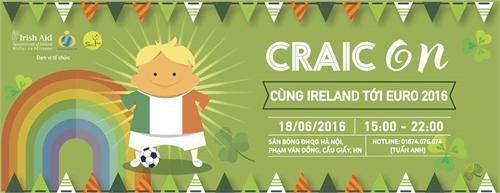 Irish cultural festival celebrates Euro 2016