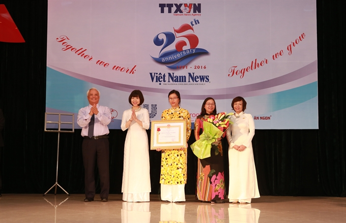 Việt Nam News commemorates 25 years of service