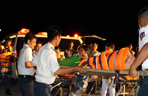 Three missing four injured in boat accident