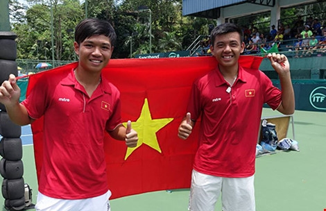Nam leads Việt Nam at Davis Cup event