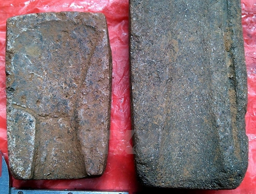 Ancient moulds for axes discovered