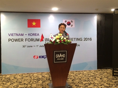 VN Korea to boost electrical ties
