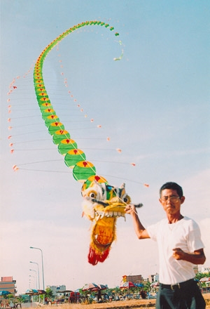 Kite maker on cloud nine after setting record