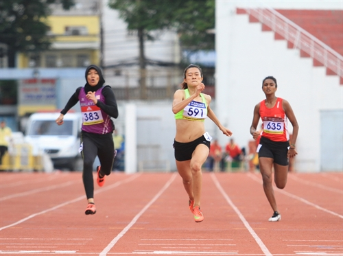 Việt Nam wins two golds at Asian junior athletics