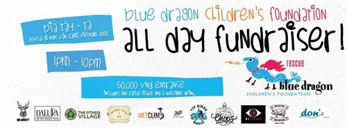 Fundraiser for Blue Dragon Children