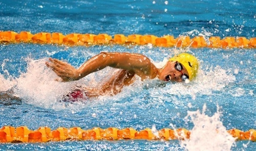 Phước wins gold in Budapest swimming competition