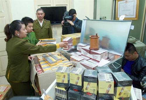 Govt targets smuggled goods