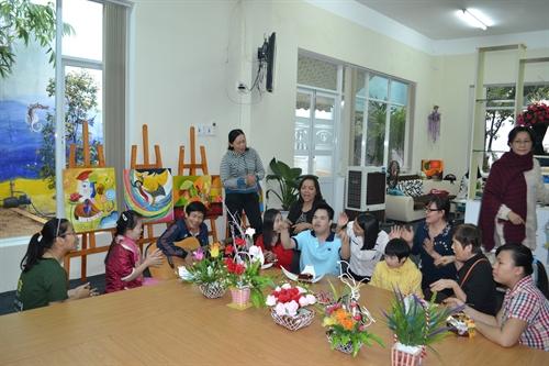 Handicapped children learn life skills