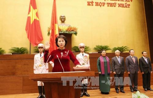 Nguyễn Thị Kim Ngân re-elected as 14th NA Chairwoman