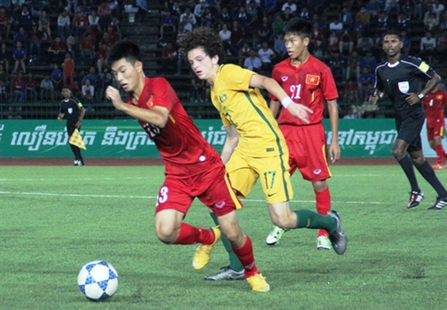 VN lose to Australia in AFF final
