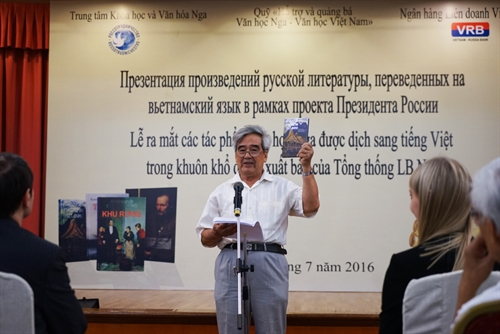 Russian classical novels introduced in Việt Nam