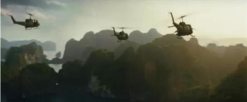 Kong trailer reveals sequences from Việt Nam