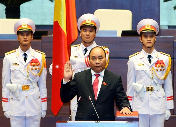 Nguyễn Xuân Phúc re-elected Prime Minister