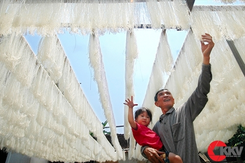 Drying vermicelli