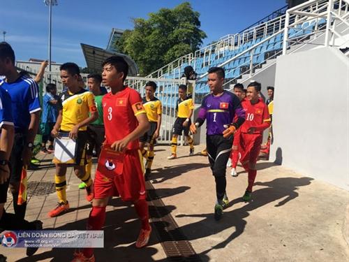 Việt Nam beats Brunei 5-0 in U14 football