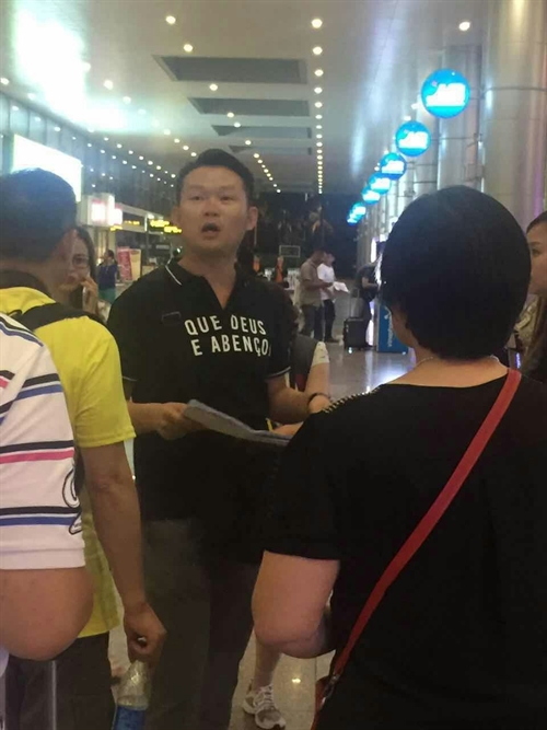 Central city fines illegal Chinese tour guides