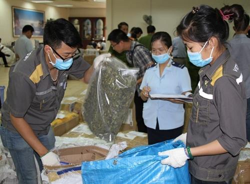 Police seize 2.5 tonnes khat leaves
