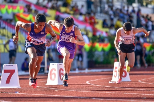Sự bags bronze for VN in Thai track and field event