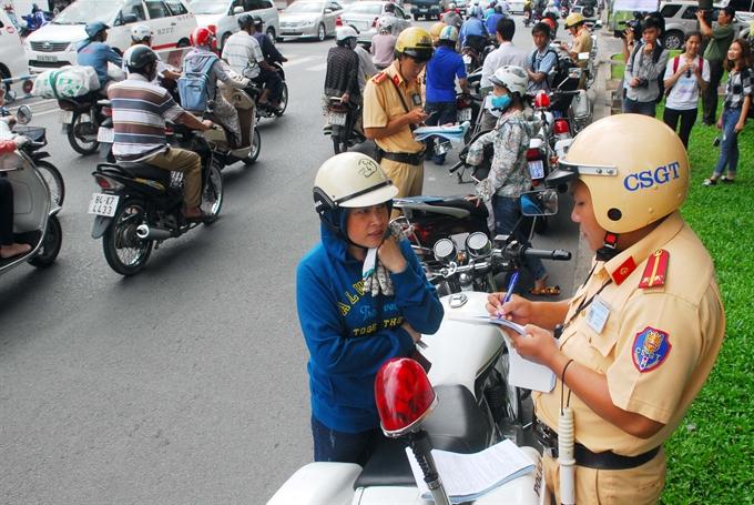 Stiffer traffic fines issued