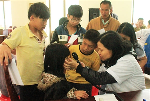Đà Nẵng children to get free eye check-ups