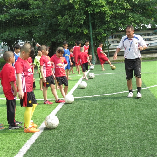 Free football training for poor City kids