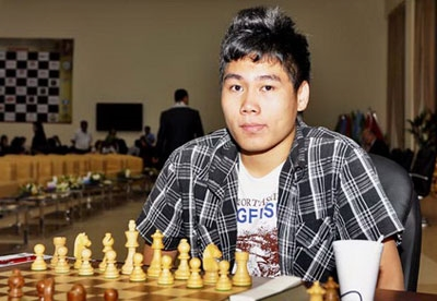Minh loses to Russian rival in chess event