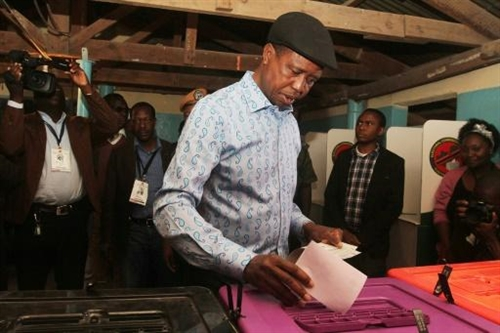 Zambias Lungu re-elected president as rival cries foul