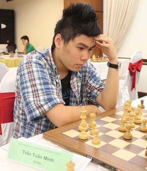 Minh slips three places in junior chess champs