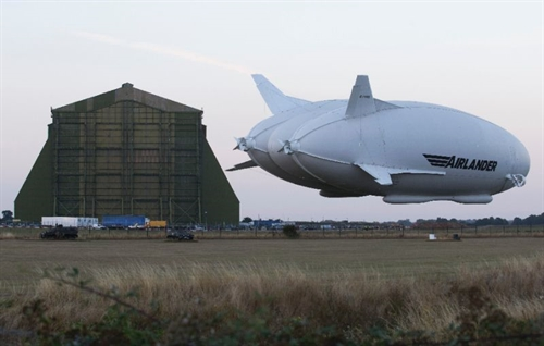 Worlds largest aircraft gets off ground