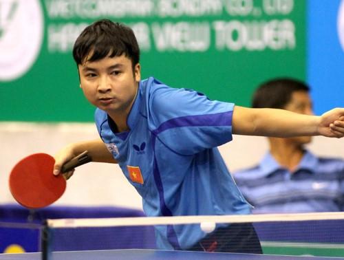 Golden racket table tennis in HCM City