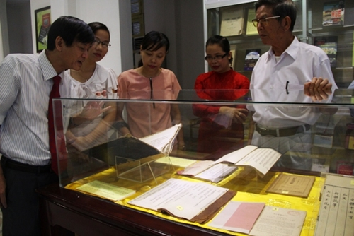 Books on Huế culture and history exhibited