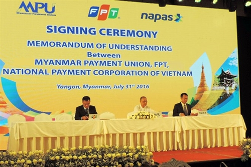 FPT selected to build payment system for Myanmar