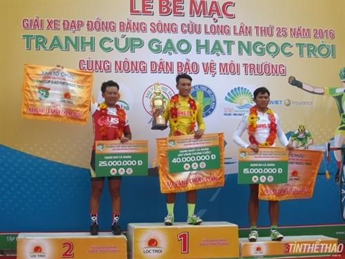 Tâm wins Mekong Delta cycling tournament