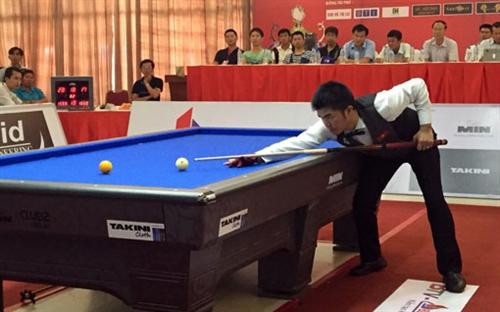 Cueist Nguyện wins international event in Bình Dương