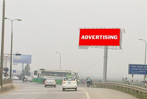 Hà Nội to remove illegal outdoor posters