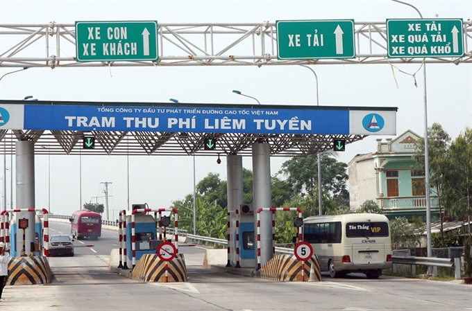 Road toll collection to be inspected