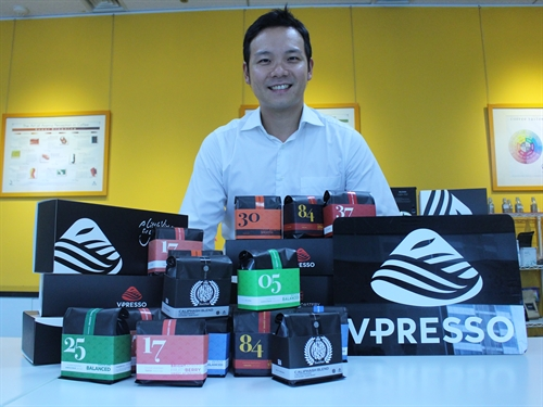Vpresso: a new traditional face of VN coffee