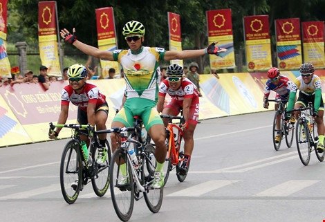 Tâm wins international cyclings fifth stage