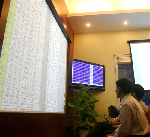 VN-Index hits over one-month high