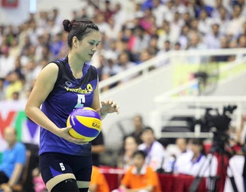 Huệ recalled to national volleyball team