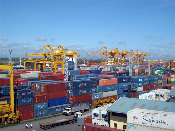 VN records 2.45b trade surplus in 8 months